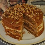 Excellent Coffee & Walnut Cake