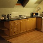 The Kitchen area in Lodge 1