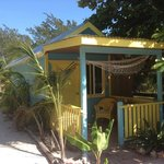 Outside the new small cabana