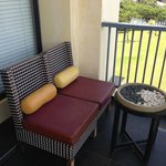 Sofa and Mini Table at Balcony