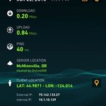 Surftides WiFi speed.  Awful.