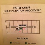 Hotel 71 Floorplan 9th Floor