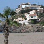 La Siesta over looks this beach