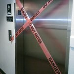 Broken Elevator at Extended Stay America
