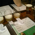 the samples of the other beers