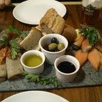the sharing platter!