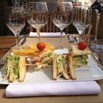 Le fabuleux club sandwich du C
