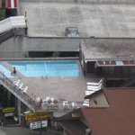 View of the pool from Space Needle