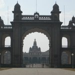 Mysore Palace Gate