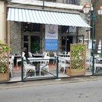terasse du restaurant U Valincu situé sur la marine