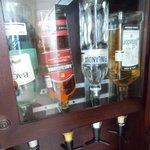 bar in camera