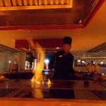 show cooking al ristorante giapponese