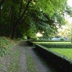 Château grounds.