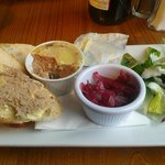 Starter - homemade Chicken Pate