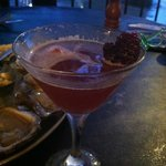 House-infused berry vodka; delicious martini!
