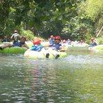 River tubing tour