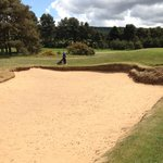 One of many huge bunkers you do not want to get into (of course)