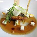 Le foie gras rôti