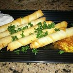 Feta Rolls are to die for, you HAVE to get some.