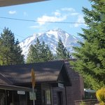 View of Mt Shasta from the side booths, Jun 2013