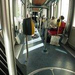 Tram, great convenience