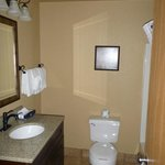 Bathroom with updated features