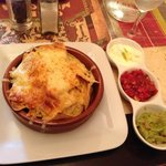amazing nachos and dips :-)