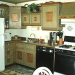 Apartment C Kitchen