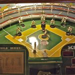 An arcade baseball game, $1 to replay the '37 World Series