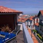 terrasse 3 eme etage avec jacuzzi