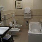 Large bathroom and tub