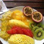 Colazione in camera .. frutta freschissima!
