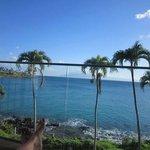 View from ocean front studio