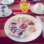 una parte della colazione