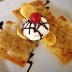 Fried Banana Ravioli