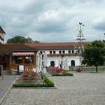 Der Marktplatz im Schloss