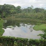 Lake outside the main area