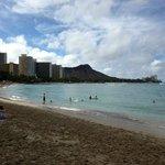 Beachfront in Front of Royal Hawaiian