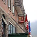 Mount Royal Hotel on Banff Avenue, Canada