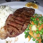 Dinner Special: 8-oz. Ribeye Steak with all the trimmings for $13.99