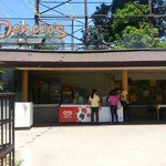 at the entrance where you can grill davaos best barbeque and davaos blue finn and yellow finn tu