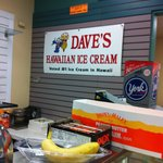 Kamoi serves Dave's Ice Cream