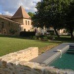 piscine et chambres hôtes dans le bordelais