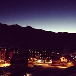 Val Thorens at Dusk