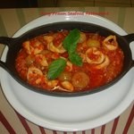 Calamari Stifado...baked with fresh tomato, onions and herbs