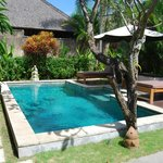 Private pool within the villa