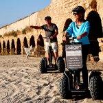 Segs @ the aqueduct of Caesarea