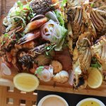 Hot Seafood Platter at Pebble Beach