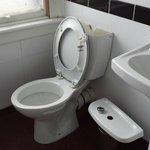 broken toilet cistern
