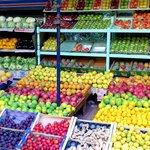 Local fruit vendor